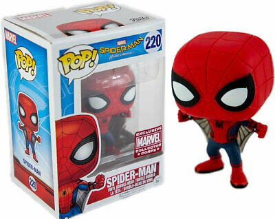 Funko Pop! Marvel Homecoming Spider-man #220 Collector Corps w/ Protector
