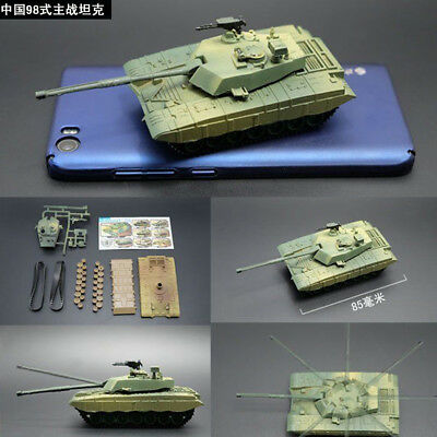 8 Style 1/72 WWI WWII Tank Model Kit Military World War USA Germany PLA Toy 4D