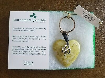 Connemara marble keyring by JC Walsh and Sons