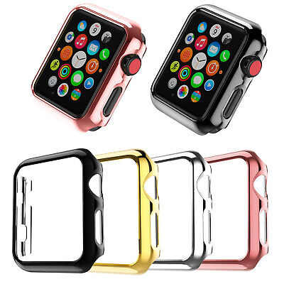 For Apple Watch Series 1 2 3 4 Full Body Case Cover Screen Protector 38/42mm