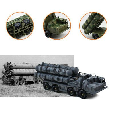 1:72 Russian S-300 Ballistic Missile Launcher Assembly Model Kits Toy