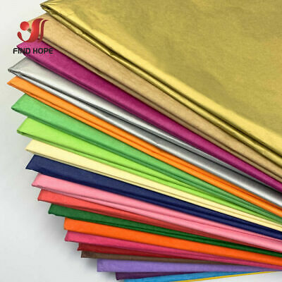 10 SHEETS ACID FREE TISSUE PAPER VARIOUS COLOUR 50CM*35CM 14x20 inch 50cm X 75cm
