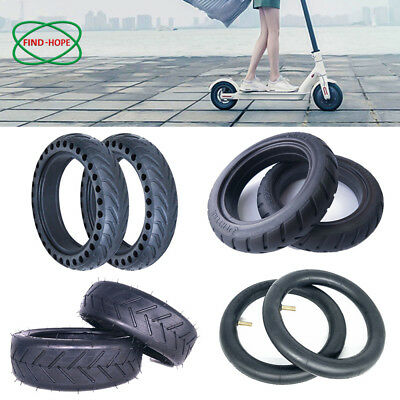 Solid Hollow Tires Tyre/ Wheel Replace for Xiaomi Mijia M365 Electric Scooter