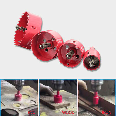 14Pcs Hole Saw Tooth HSS Steel Drill Bit Cutter Tool For Metal Alloy Rotary Tool