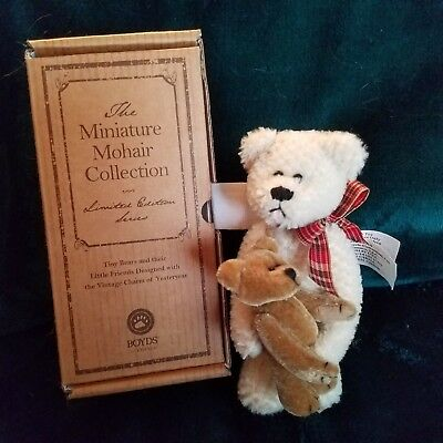Boyds Bears Limited Miniature Mohair Collection Tyler Retired New!