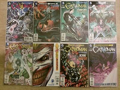 Catwoman Vol 4 #0-16 DC The New 52