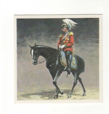 Horses in the Service of Man Trade Card - King George IV ceremonial horse
