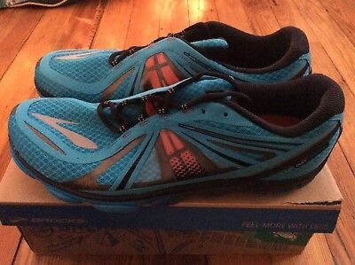 138cd08ec14 NEW Brooks Pure Cadence PureCadence Men s Running Shoes - Blue Orange - Sz  14