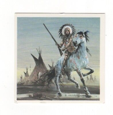 Horses in the Service of Man Trade Card - The Appaloosa. Red Indian Wild West