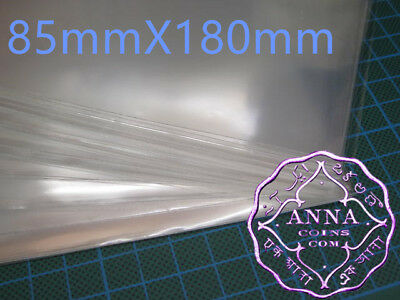 PCCB Professional Banknote Sleeves 85mmX180mm 50 Pcs