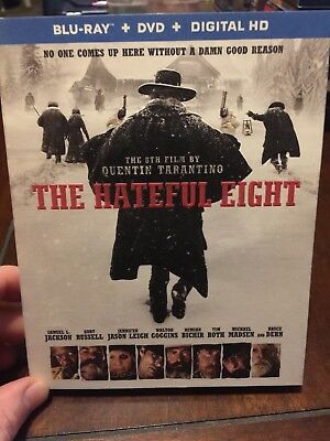 The Hateful Eight (Blu-ray+DVD 2016, 2-Disc Set, Digital Copy) Quentin Tarantino