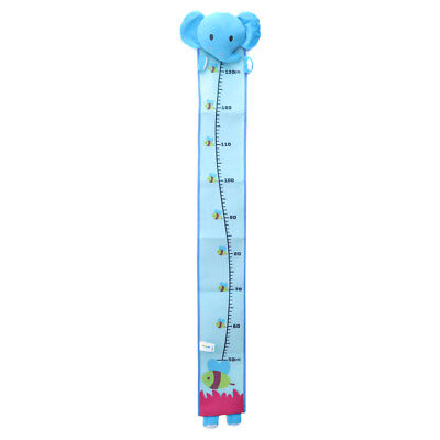 Kids Height Chart Wall Home Decoration Cartoon Animals Measuring Height Ruler