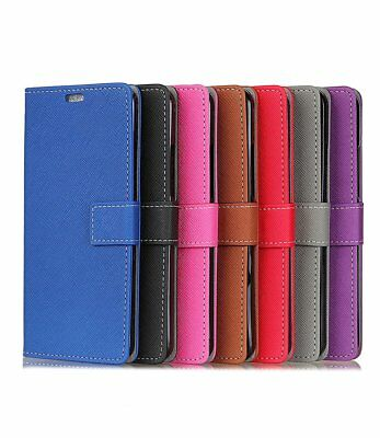 Magnetic PU Leather Wallet Slim Flip Case Cover For HTC Desire 520 M10 10 Pro EU