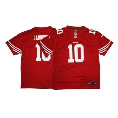 82c58ed59 Jimmy Garoppolo Nike San Francisco 49ers Nike Game Day Home Red Youth Jersey