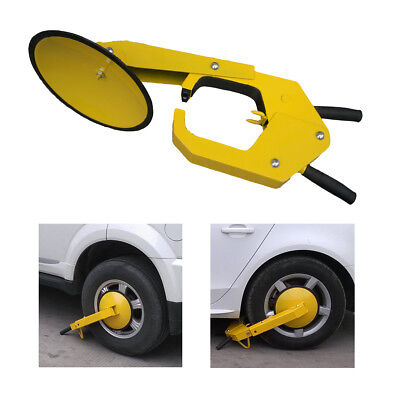 Wheel Lock Heavy-duty Car Anti-theft Wheel Lock for Auto Car Truck SUV ATV RV