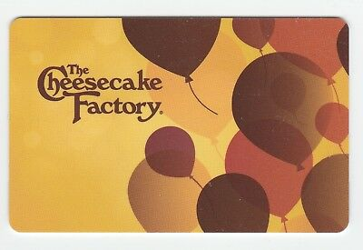 Cheesecake Factory no value collectible gift card mint #10 Balloons