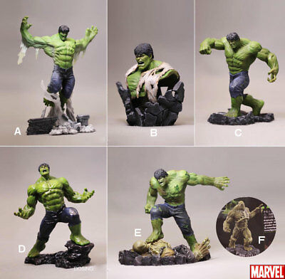 The Avengers Comic Edition Hulk PVC Statue 5 Figures + Hidden version In Stock