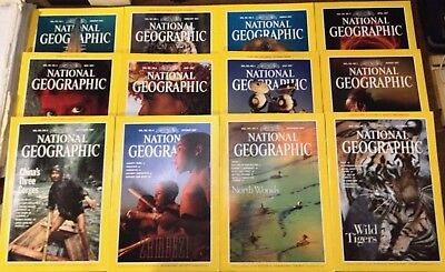 National Geographic Magazines - 1997 - American Edition