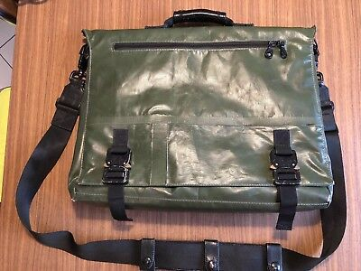 KILLSPENCER Messenger Bag Hand Made In LA Collectors Item Recycled Tarp Freitag