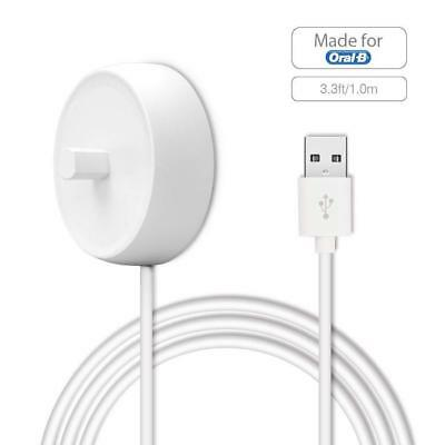 Electric Toothbrush USB Charger for Oral b - Cord Charging - Inductive Base...