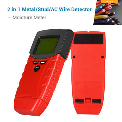 STUD WOOD WALL Center Finder Scanner Metal AC Live Wire