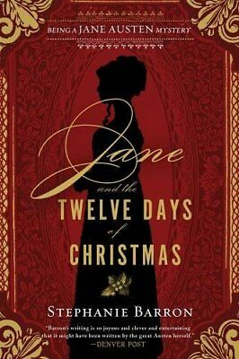 Jane And The Twelve Days Of Ch by Stephanie Barron New Paperback / softback Book