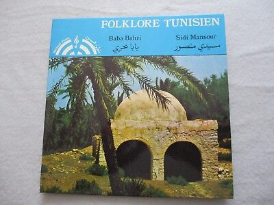 Folklore Tunisien Troupe Toufik Zouari Sidi Mansour Greece Press 1977 gut