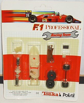 Tonka Polistil Set Ricambi X Slot Scala 1/32 Racing Team F1 Professional Blister