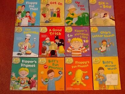 OXFORD READING TREE BOOKS, READ WITH BIFF, CHIP & KIPPER - Level 1 - Set of 12