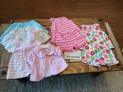 Small Bundle Of Baby Girls Clothes 3-6 Months