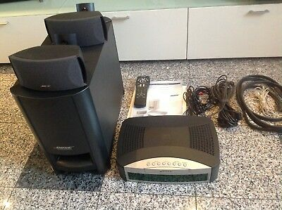 Bose 3.2.1 Home Entertainment System komplett mit Wandhalterung