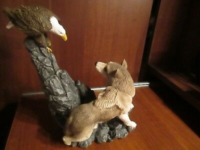 """""""Wolf vs Eagle"""" issued by Living Stone"""