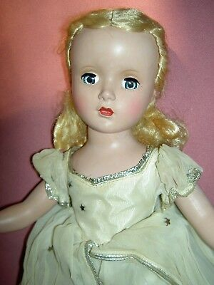 "Gorgeous 1950 hard plastic, tagged Mme Alexander 14"" CINDERELLA doll EXCELLENT"