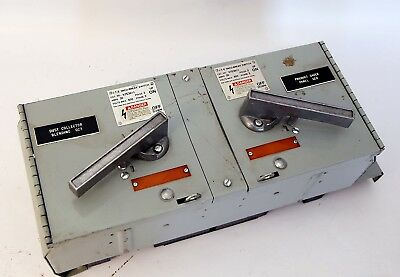 General Electric Spectra Fused Switches 3PH 600A 600V Siemens ITE Vacu-Break