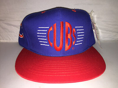 Vtg Chicago Cubs Annco Snapback hat cap rare 90s MLB baseball NWT wrigley  field d584679bc00c