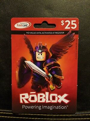 Roblox 25 Physical Robux Gift Card Fast Shipping 22 50