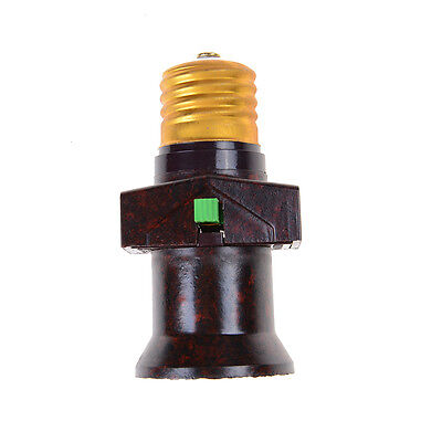 E27 Screw Base Light Holder Convert To With Switch Lamp Bulb Socket Adapter@ PL