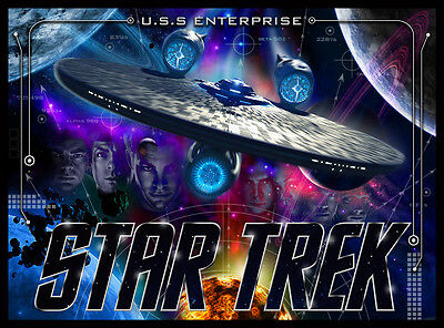 Star Trek Pinball Alternate Translite (2 versions)