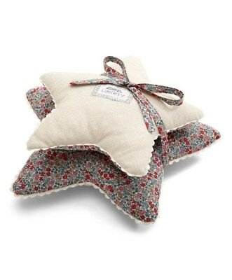NEW Mamas and Papas LIBERTY OF LODNON Emilia's Flower Print 2 x Nursery Cushions
