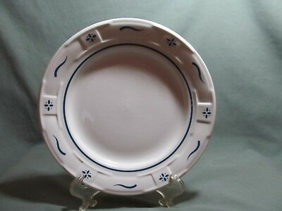 "Longaberger, Woven Tradions Classic Blue 7 1/4"" Bread and Butter Plate(s)"