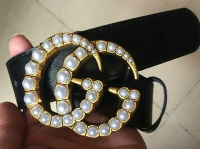 NEW!! GG Belt GUCCI DOUBLE G Ceinture ALL SIZE !! ALL COLOR! fac77c5f3beb