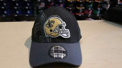 f0d743db2 New Era NFL New Orleans Saints Classic 39thirty Flex Cap Hat NewEra Size M  - L