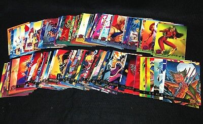 X-Men 1995 Fleer Ultra #1-150 (Missing #70) INCOMPLETE SET! Cards Spring Break