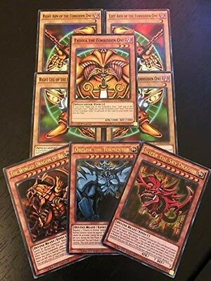 YuGiOh EXODIA! GOD Cards! and Much More ALL HOLOS 15 Card Lot!