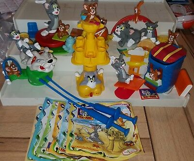 Maxi Kinder 2008, Tom & Jerry, Italy, compl. set with all Bpz