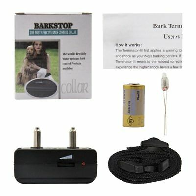 Pet Dog Rechargeable Anti Bark Collar Control Train Waterproof Stop Barking Dog