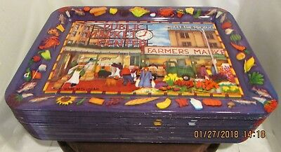 29 Historical1994 Seattle Pike Place Market/Farmers Market Decorative Trays New