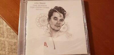 John Mayer The Search For Everything Cd Brand New Sealed Unopened 2017