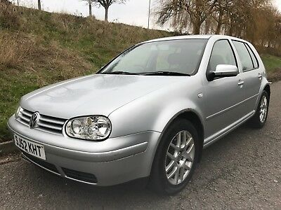 (52) 2002 Volkswagen Golf 1.9 GT TDi PD 130 5 Dr Hatchback Manual Diesel Silver