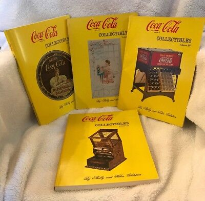 ***Coca-Cola Collectibles 4 book set. Volume I-IV. New Condition.***